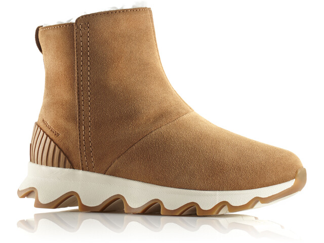 Sorel Kinetic Short Botas Mujer, camel brown/natural